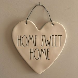 Rae Dunn Heart Shaped Wall Hanging